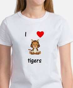I love tigers Women's T-Shirt