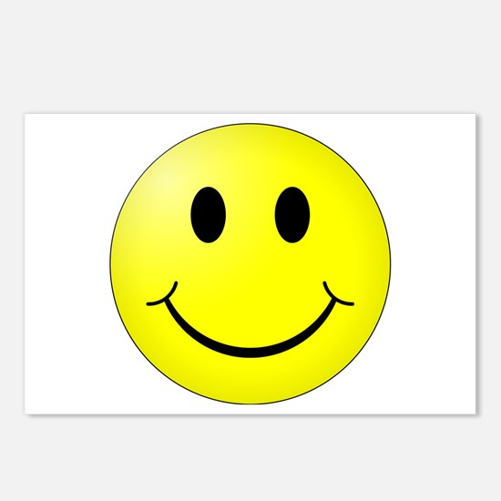 Classic Smiley Postcards (Package of 8)