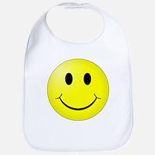 Classic Smiley Bib