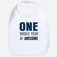 One year awesome Bib