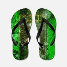 Happy St. Patrick's day Flip Flops