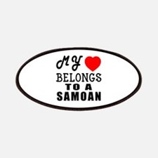 I Love Samoan Patch