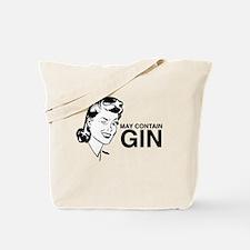 Cute Retro cocktail Tote Bag