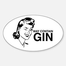 May contain gin Decal