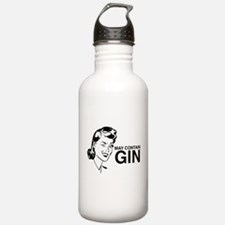May contain gin Water Bottle