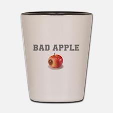 BAD APPLE! Shot Glass