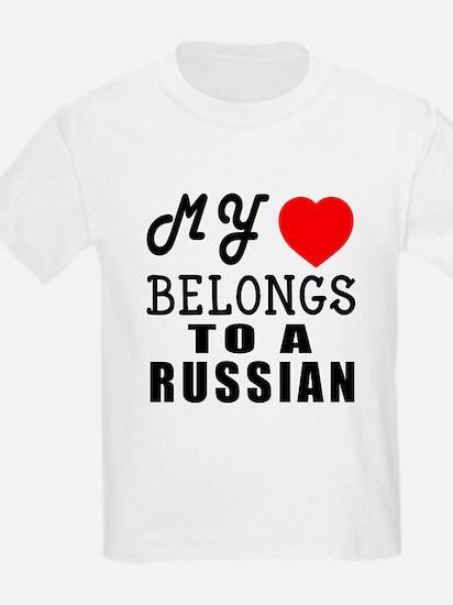 I Love Russian T-Shirt