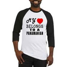 I Love Panamanian Baseball Jersey