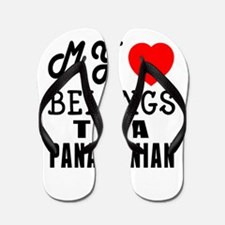 I Love Panamanian Flip Flops