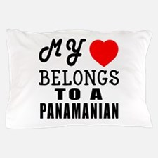 I Love Panamanian Pillow Case