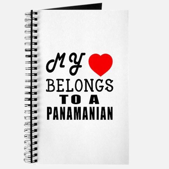 I Love Panamanian Journal