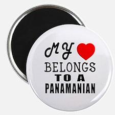 I Love Panamanian Magnet
