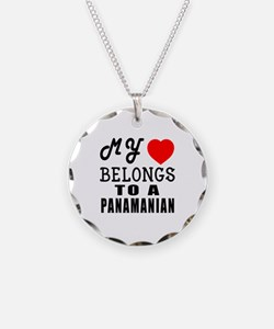 I Love Panamanian Necklace