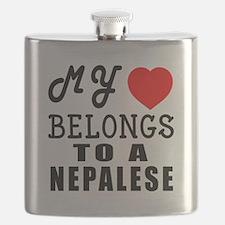 I Love Nigerian Flask