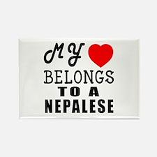 I Love Nigerian Rectangle Magnet