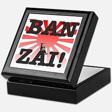 BANZAI - RISING SUN! Keepsake Box