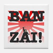 BANZAI - RISING SUN! Tile Coaster