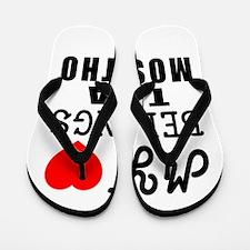 I Love Mosotho Flip Flops