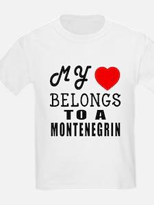 I Love Montenegrin T-Shirt