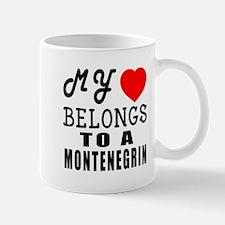 I Love Montenegrin Mug