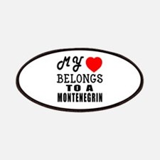 I Love Montenegrin Patch