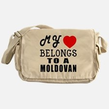 I Love Moldovan Messenger Bag