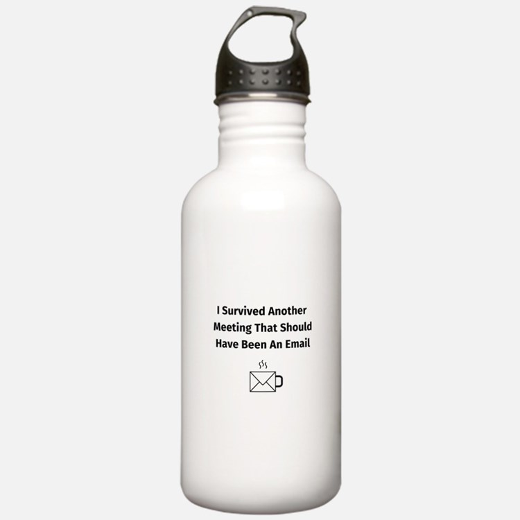 Cute Office humor Sports Water Bottle