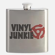 Vinyl Junkie Flask