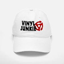 Vinyl Junkie Baseball Baseball Cap