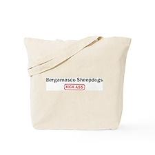 Bergamasco Sheepdogs Kick ass Tote Bag