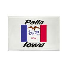 Pella Iowa Rectangle Magnet