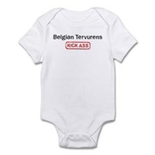 Belgian Tervurens Kick ass Infant Bodysuit