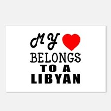 I Love Libyan Postcards (Package of 8)