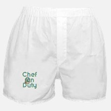 Chef on Duty Boxer Shorts