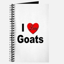I Love Goats for Goat Lovers Journal