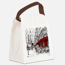 Funny Romance Canvas Lunch Bag