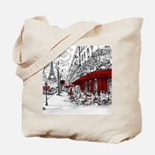 Unique Paris Tote Bag