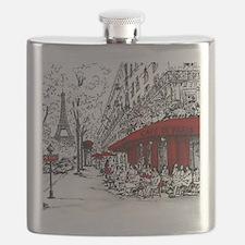 Unique Paris Flask