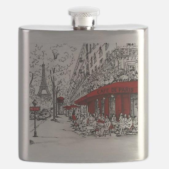 Cute France Flask