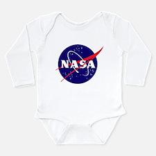 NASA Meatball Logo Long Sleeve Infant Bodysuit