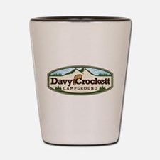Davy Crockett Campground Shot Glass