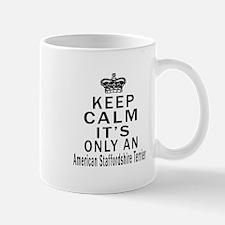American Staffordshire Terrier Keep Cal Mug
