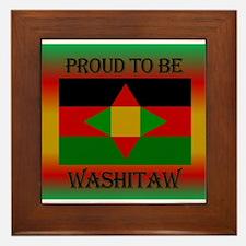 Washitaw Proud Framed Tile