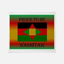 Washitaw Proud Throw Blanket