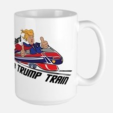 The TRUMP TRAIN   Donald Trump Mugs