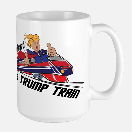 The TRUMP TRAIN | Donald Trump Mugs