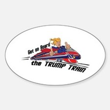 The TRUMP TRAIN | Donald Trump Decal