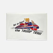 The TRUMP TRAIN   Donald Trump Magnets