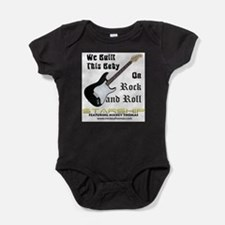 Cute Rock n roll baby Baby Bodysuit