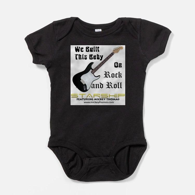 Cute Rock roll Baby Bodysuit